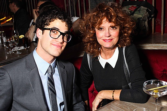 How to Succeed – Darren Calvin Klein Party - Darren Criss – Susan Sarandon