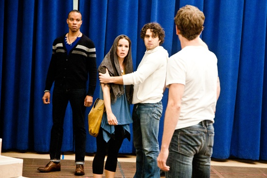 In Rehearsal with Jesus Christ Superstar – Marcus Nance – Chilina Kennedy – Josh Young – Paul Nolan