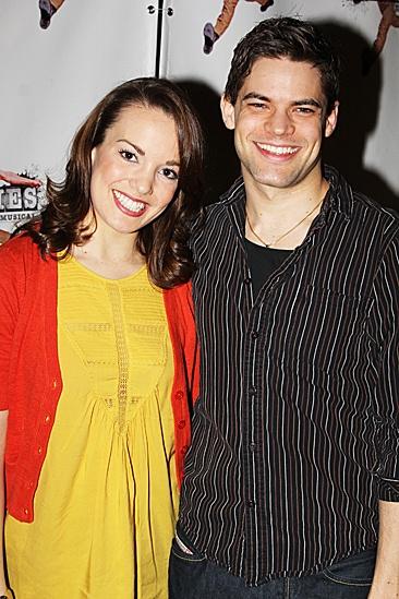 Newsies- Jeremy Jordan and Kara Lindsay