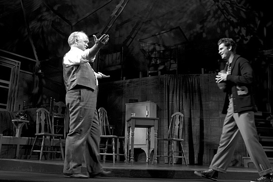 Death of a Salesman- Philip Seymour Hoffman and Andrew Garfield