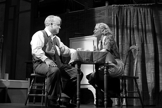 an analysis of the death of a salesman during the winter of 1949 on broadway