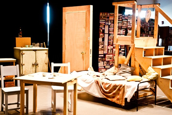 Streetcar Named Desire rehearsal – set