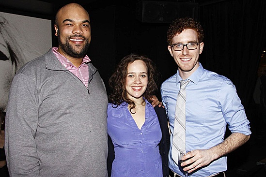 One Man, Two Guvnors Toasts First Broadway Preview – David Ryan Smith – Natalie Smith – Matt Cusack