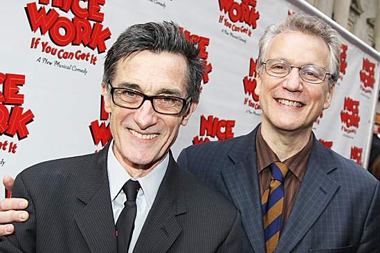 Nice Work If You Can Get It – Opening Night – Roger Rees – Rick Elice
