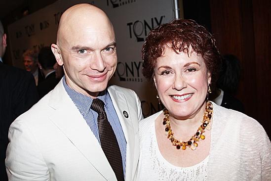 2012 Tony Brunch – Michael Cerveris – Judy Kaye