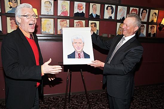 Sardi's Portrait – Tony Sheldon- Max Klimavicius