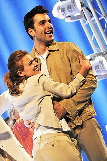 Mamma Mia – 2012 New Cast Opening Night – Christy Altomare – Zak Resnick