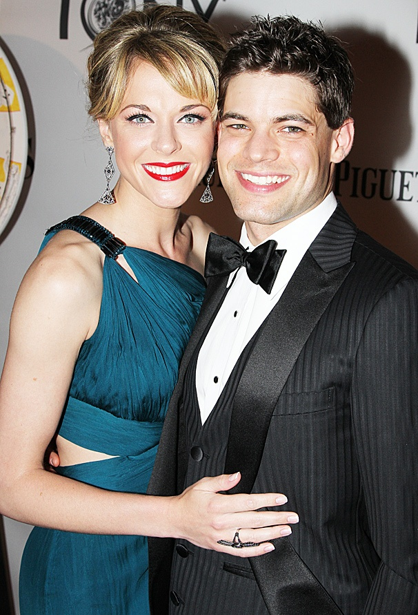 2012 Tony Award Best Pairs- Jeremy Jordan -Ashley Spencer