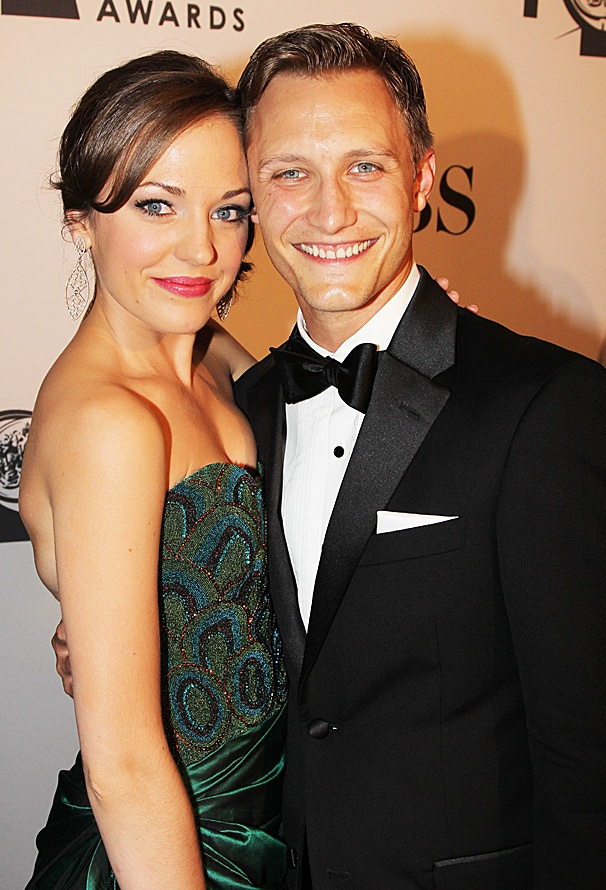2012 Tony Award Best Pairs- Laura Osnes- Nathan Johnson