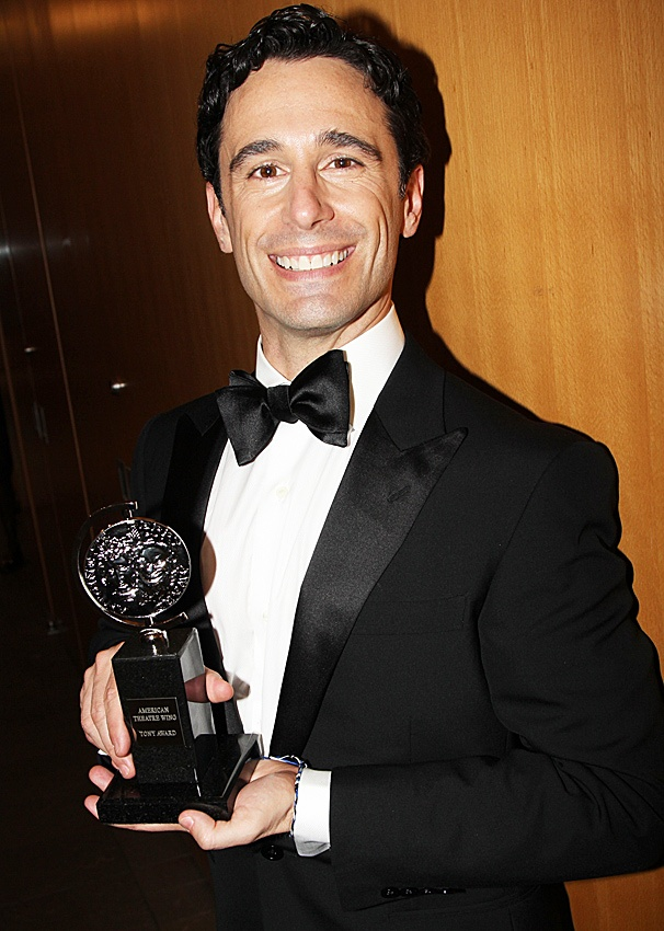 2012 Tony Awards Winner's Circle – Christopher Gatelli