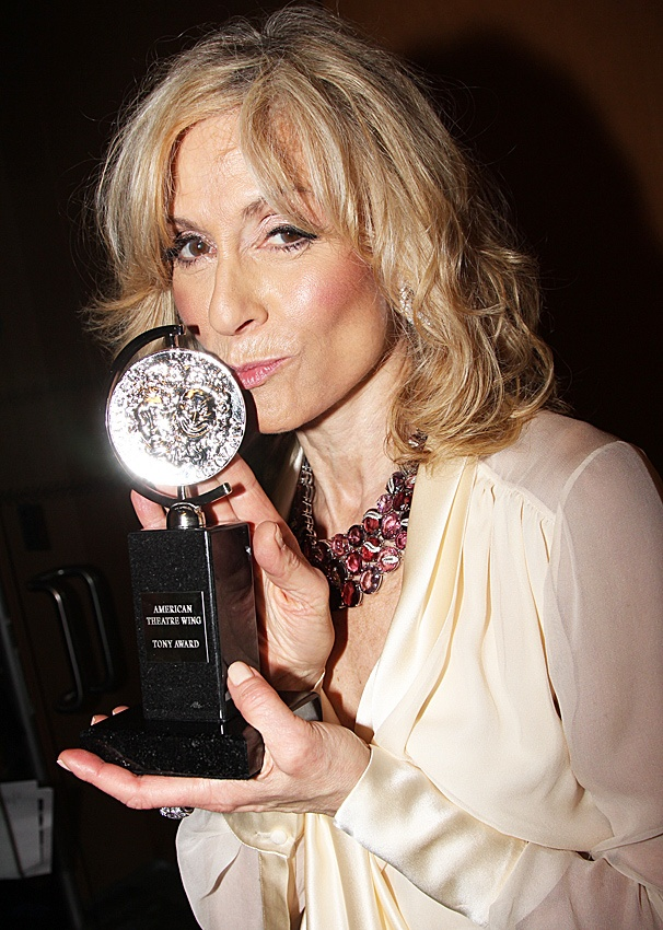 2012 Tony Awards Winner's Circle- Judith Light