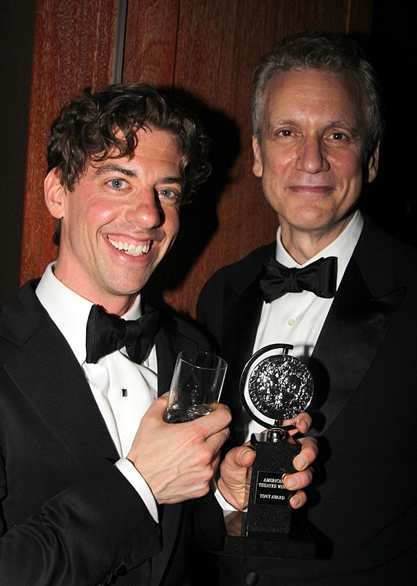 2012 Tony Awards – O&M After Party – Christian Borle – Rick Elice