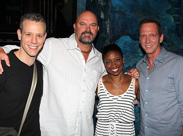 Memphis- Adam Pascal- David Wells- Montego Glover- David Cone