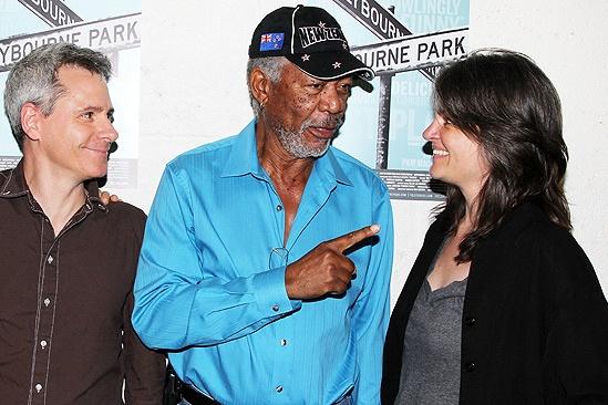 Morgan Freeman at Clybourne Park – Bruce Norris – Morgan Freeman – Pam MacKinnon