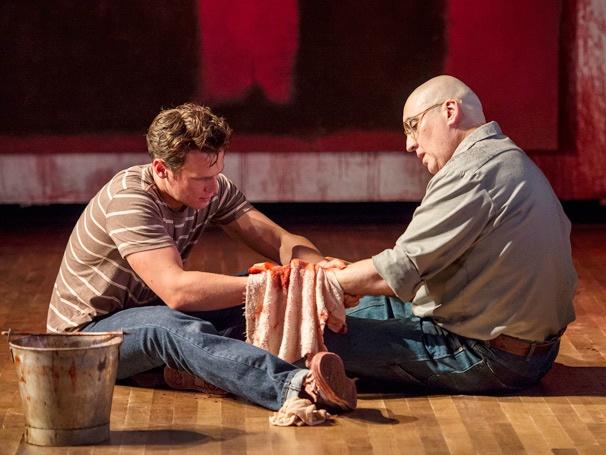 Show Photos - Red - Jonathan Groff - Alfred Molina