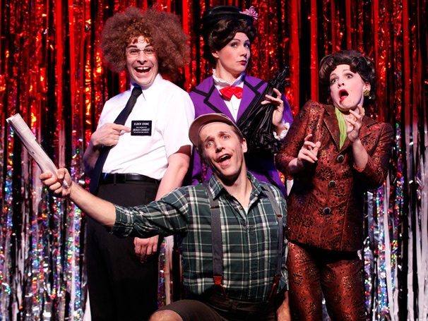 Show Photos - Forbidden Broadway: Alive & Kicking - Scott Richard Foster - Marcus Stevenes - Natalie Charle Ellis - Jenny Lee Sternin