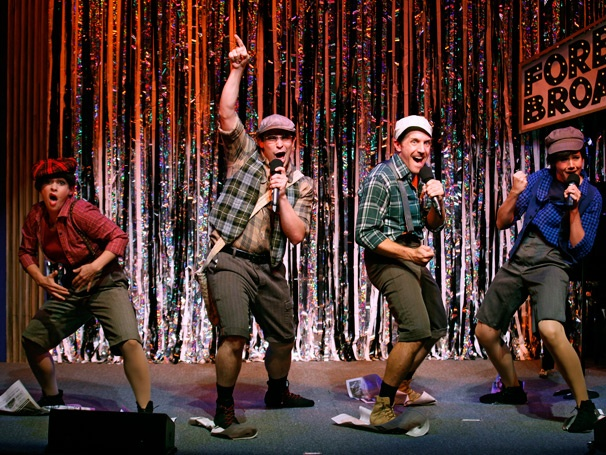 Show Photos - Forbidden Broadway: Alive & Kicking - Jenny Lee Stern - Marcus Stevens - Scott Richard Foster - Natalie Charle Ellis