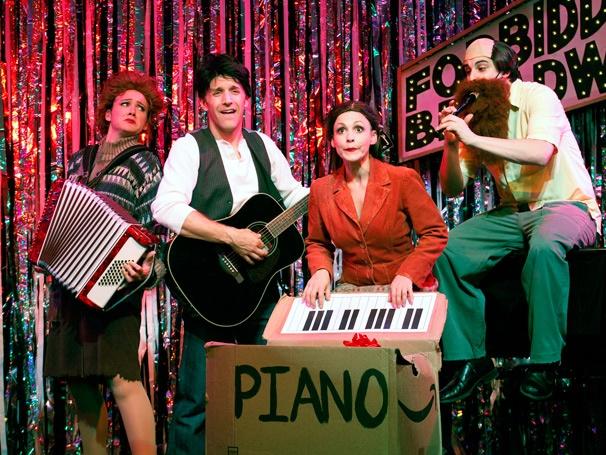 Show Photos - Forbidden Broadway: Alive & Kicking - Natalie Charlé Ellis - Scott Richard Foster - Jenny Lee Stern - Marcus Stevens