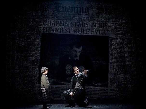Show Photos - Chaplin - Rob McClure - Zachary Unger - Rob McClure