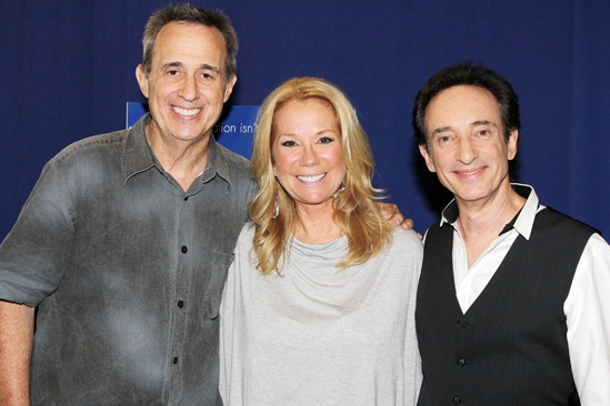 'Scandalous' Press Event — David Friedman - Kathie Lee Gifford – David Pomeranz