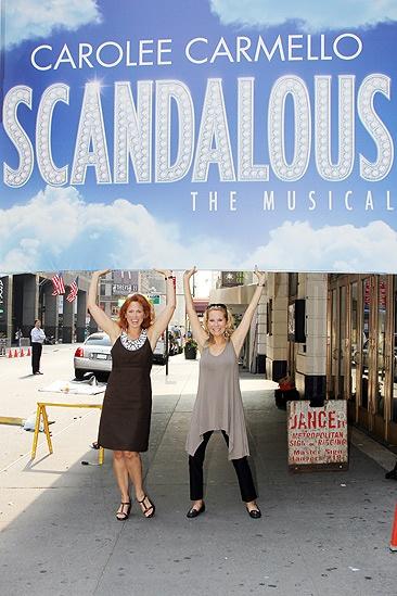 'Scandalous' Marquee—Carolee Carmello—Kathie Lee Gifford