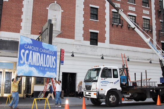 'Scandalous' Marquee
