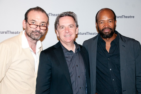 The Train Driver – Opening Night – Ritchie Coster – James Houghton – Leon Addison Brown