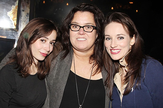 Rosie O'Donnell at 'Once' — Cristin Milioti — Rosie O'Donnell — Elizabeth A. Davis