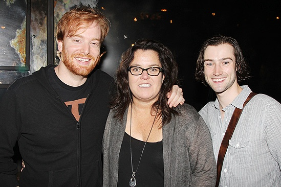 Rosie O'Donnell at 'Once' — David Abeles — Rosie O'Donnell — Will Connolly