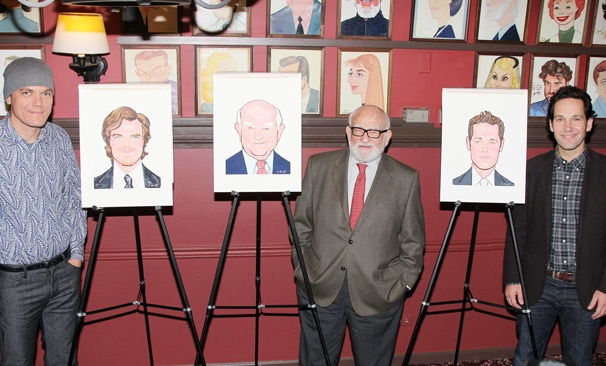 Grace – Sardi's Portraits – Michael Shannon – Ed Asner – Paul Rudd