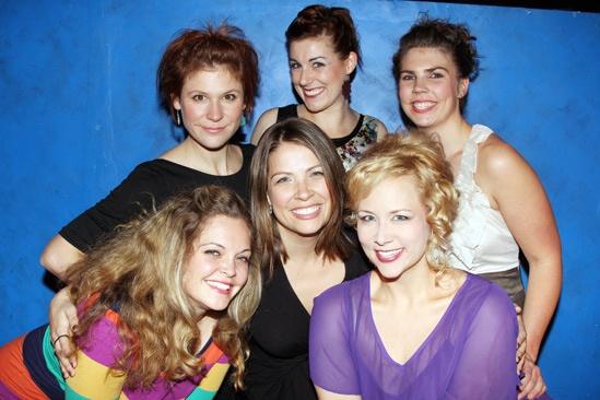 '5 Lesbians Eating a Quiche' Opening Night — Thea Lux — Caitlin Chuckta — Sarah Gitenstein — Megan Johns — Rachel Farmer — Maari Suorsa