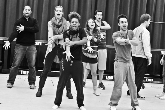 Bare – Rehearsal – Jerold Solomon – Missi Pyle – Ariana Groover – Elizabeth Judd - Casey Garvin – Michael Tacconi – Jason Hite