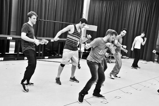 Bare – Rehearsal – Jason Hite – Casey Garvin – Travis Wall – Michael Tacconi – Anthony Festa