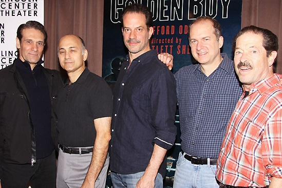 Golden Boy- Anthony Crivello- Ned Eisenberg- Danny Mastrogiorgio- Daniel Jenkins - Jonathan Hadary