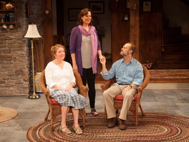 Show Photos - Vanya and Sonia and Masha and Spike - Kristine Nielsen - Sigourney Weaver - David Hyde Pierce