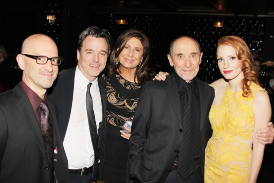 The Heiress – Opening Night – David Lander - Derek McLane – Paula Wagner – Albert Wolsky – Jessica Chastain