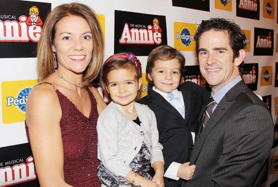 Annie- Elly Blankenbuehler - Sofia- Luca -Andy Blankenbuehler