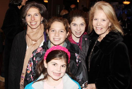 Annie- Daryl Roth and Family