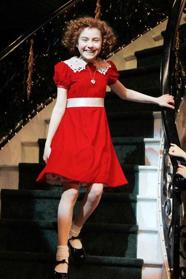 Annie The Musical On Broadway ~ Katie Finneran Interview ...