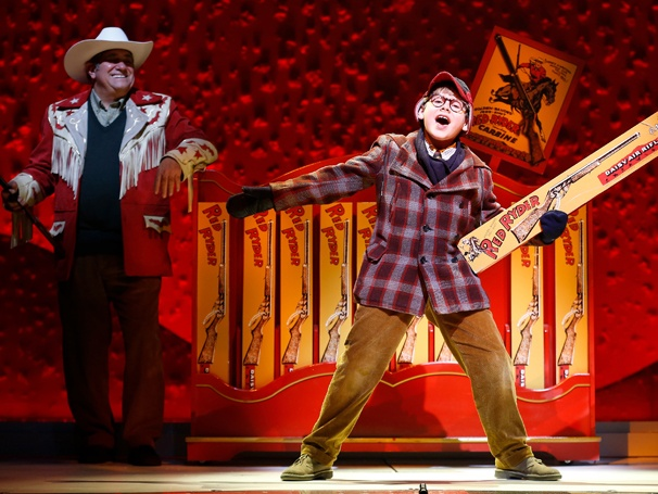 Show Photos- A Christmas Story - Dan Lauria and Johnny Rabe