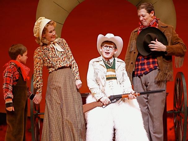 Show Photos- A Christmas Story - Zac Ballard, Erin Dilly, Johnny Rabe and John Bolton