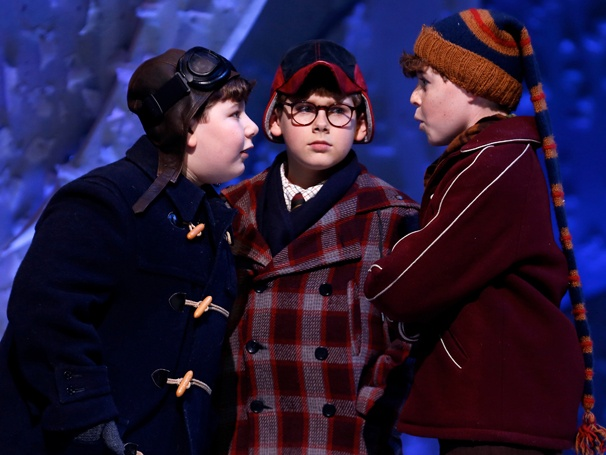 Show Photos- A Christmas Story - Jeremy Shinder, Johnny Rabe and J.D. Rodriguez