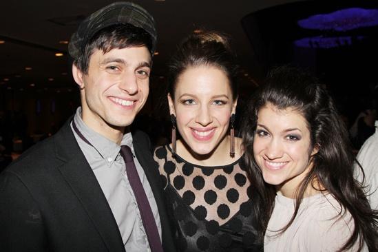 'Mystery of Edwin Drood' Opening Night — Gideon Glick — Jessie Mueller — Sarah Stiles