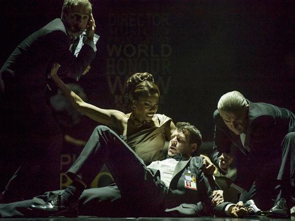 Show Photos - The Bodyguard- Heather Headley, Lloyd Owen and Ensemble