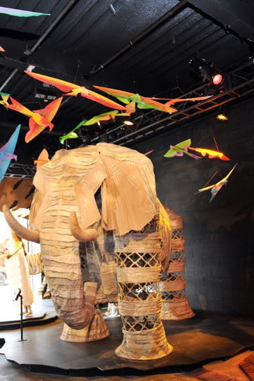 Lion King Exhibit- Circle of Life Costume