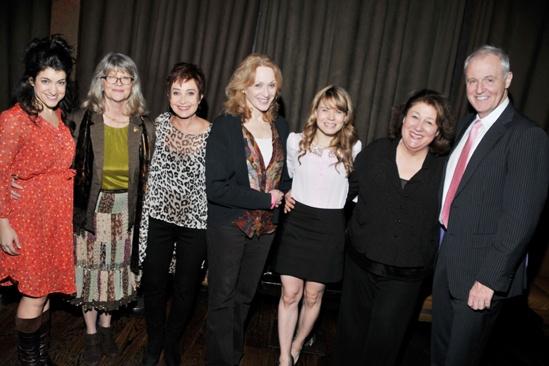 Steel Magnolias benefit reading – Sarah Stiles – Judith Ivey – Annie Potts – Jan Maxwell – Celia Keenan-Bolger – Margo Martindale – Robert Harling