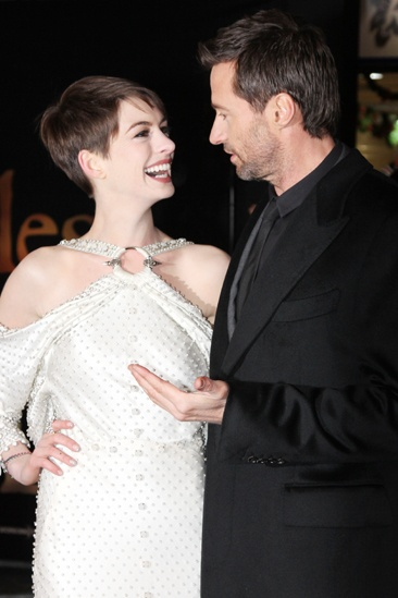 Les Miserables London premiere – Anne Hathaway – Hugh Jackman