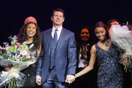The Bodyguard opening night – Debbie Kurup – Lloyd Owen – Heather Headley