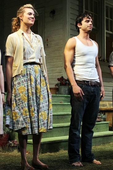 'Picnic' Opening Night — Maggie Grace — Sebastian Stan