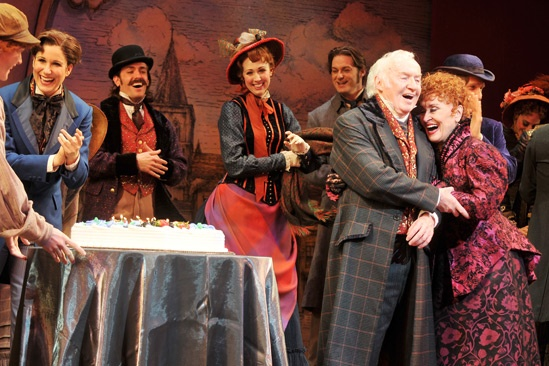Chita Rivera's <i>Drood</i> Birthday — Stephanie J. Block — Jim Norton — Chita Rivera